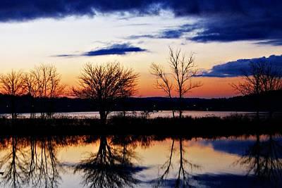 Photograph - Thanksgiving Sunrise by Joe Faherty