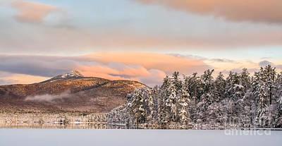 Thanksgiving Sunrise On Mt Chocorua Art Print