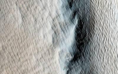 Tharsis Photograph - Tharsis Tholus Volcano by Nasa/jpl-caltech/univ. Of Arizona