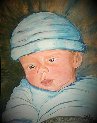 Angels Breath Painting - That Baby That Almost Was Not by Alexandria Weaselwise Busen