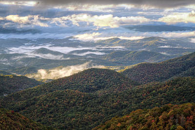 Photograph - That Blue Ridge Weather by Aaron Morgan