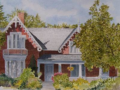 Painting - That House by Jackie Mueller-Jones