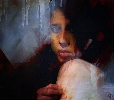 Sorrow Digital Art - That Icy Feeling by Gun Legler
