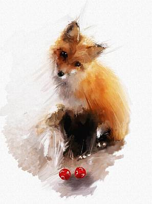 Fox Digital Art - That Lucky Guy by Richard Okun
