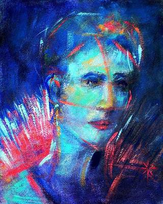 Painting - That Moment by Jodie Marie Anne Richardson Traugott          aka jm-ART