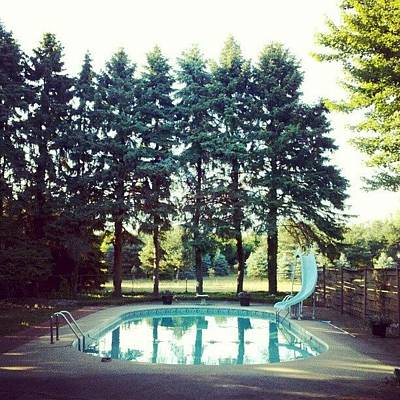 Summer Photograph - That Pool Looks Nice And Cool by Jill Tuinier