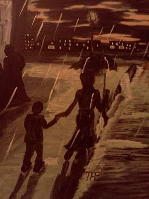 That  Rainy Night  Art Print by Renee McKnight