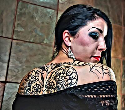 That Tattoo Art Print
