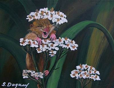 Painting - That Tickles by Sharon Duguay