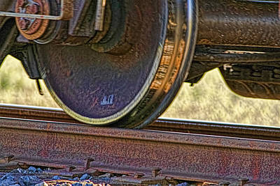 That Train Just Keeps A Rollin Art Print by Gary Holmes