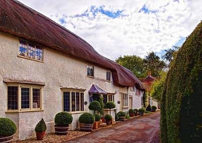 Thatched Cottage -2 Art Print