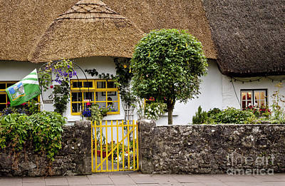 Digital Art - Thatched Cottage House by Danielle Summa