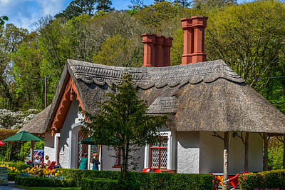 Photograph - Thatched Roof - Ireland by Marilyn Burton
