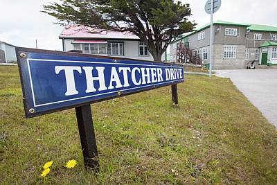 Thatcher Drive In Port Stanley Art Print by Ashley Cooper