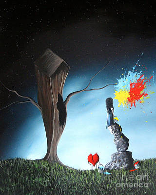 Pop Surrealism Painting - That's Better By Shawna Erback by Shawna Erback