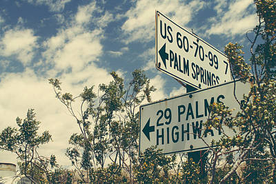 Road Sign Photograph - Thattaway by Laurie Search