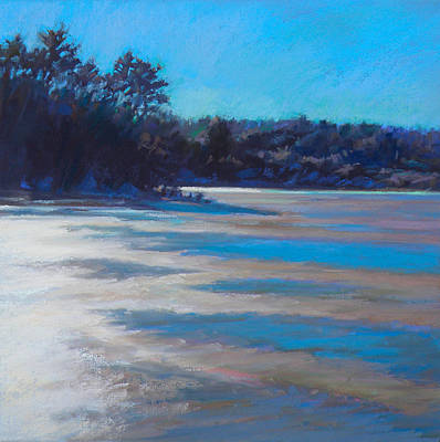 Wall Art - Painting - Thaw Glare by Ed Chesnovitch