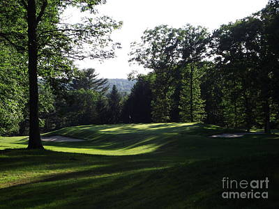 Photograph - The 16th Hole by Michelle Welles