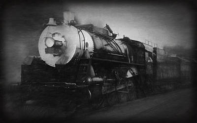 Photograph - The 1702 Locomotive by Richard Rizzo