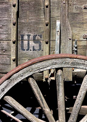 Photograph - The 1880 Supply Wagon by Joe Kozlowski