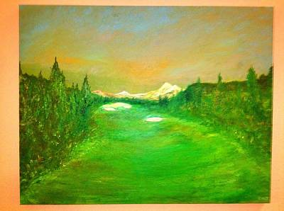 Mt. Bachelor Painting - The 18th by Dave Riney