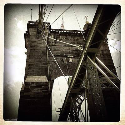 The 1st brooklyn Bridge Art Print