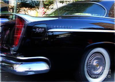Chrysler 300 Photograph - The 300  by Steven Digman