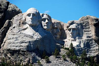 Photograph - The 4 Presidents by Dany Lison