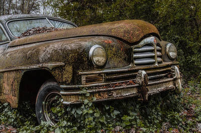 Photograph - The 48 Packard by Barry Cole