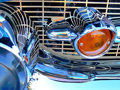 The 57 Chevy Grill Art Print