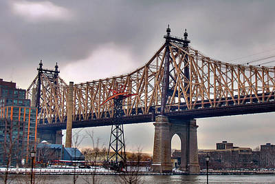 Roosevelt Bridge Photograph - The 59th St. Bridge by Joann Vitali