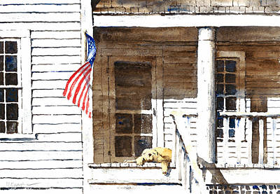 The 5th Of July Art Print by William Beaupre