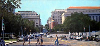 The 7th Street Shuffle Original by David Zimmerman