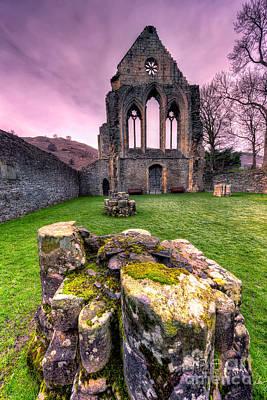 Llangollen Digital Art - The Abbey  by Adrian Evans
