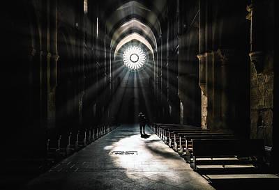 Church Architecture Photograph - The Abbey by Massimiliano Mancini