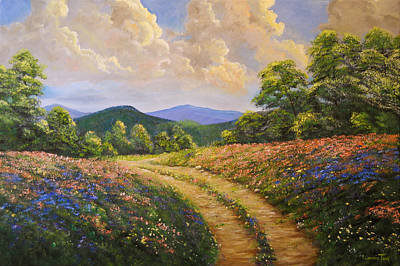 Painting - The Abundance Of Spring by Connie Tom