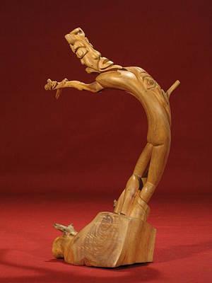 The Acrobat Art Print by Pimba