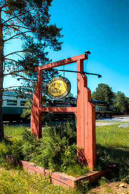 Photograph - The Adirondack Scenic Railroad II by David Patterson