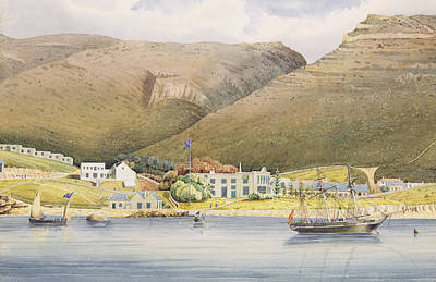 Cape Town Painting - The Admiral House by Humphrey John Julian