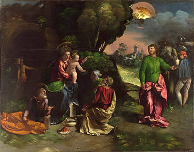 The Adoration Of The Kings Art Print by Dosso Dossi