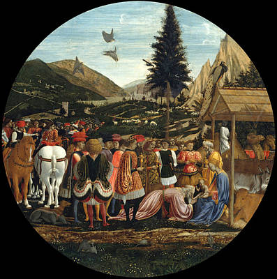 Painting - The Adoration Of The Magi by Domenico Veneziano