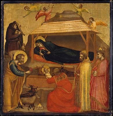 The Adoration Of The Magi Art Print by Giotto di Bondone
