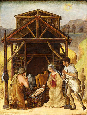 The Adoration Of The Shepherds Art Print by Ercole de Roberti