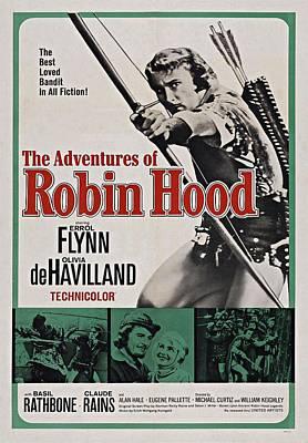 The Adventures Of Robin Hood B Art Print