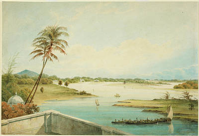 Watercolour Photograph - The Adyar River by British Library