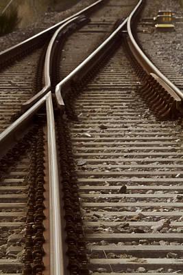 The Age Of Rail Art Print by Odd Jeppesen
