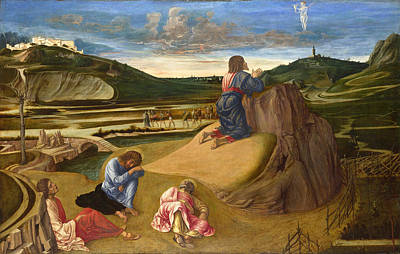 Jerusalem Painting - The Agony In The Garden by Giovanni Bellini