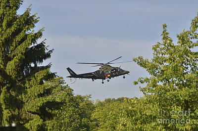 Agustawestland Aw109 Photograph - The Agusta A109 Helicopter Used by Luc De Jaeger