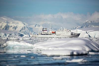 Brash Photograph - The Akademik Sergey Vavilov by Ashley Cooper