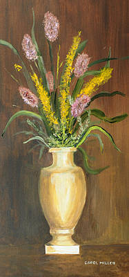Painting - The Alabaster Vase by Carol L Miller